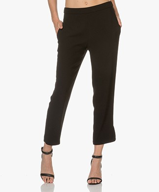 Theory Thorina Crepe Pants - Black