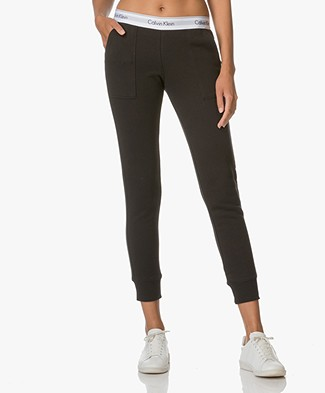 Calvin Klein Modern Cotton Sweatpants - Black