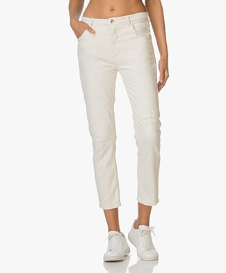 Closed Girlfriend Jeans Heartbreaker - Ivory Beige