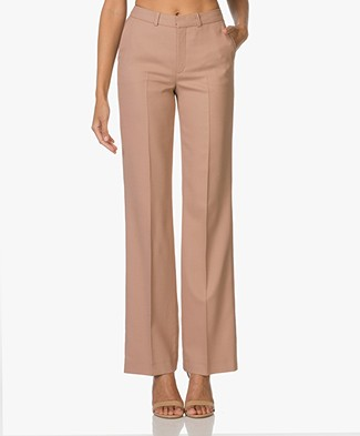 Drykorn Crack Wide Pants - Blush