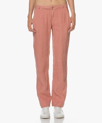 Indi & Cold Linen Chino - Old Pink