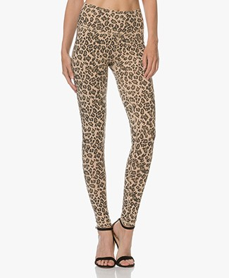 Ragdoll LA Leopard Print Leggings - Faded Camel