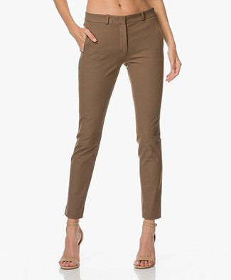 Joseph New Eliston Stretch Pantalon - Bruin