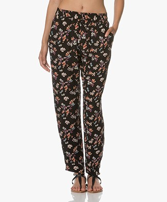 Vanessa Bruno Eliak Flower printed Pants - Black