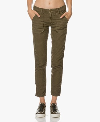 Ba&sh Sally Girlfriend Broek - Army