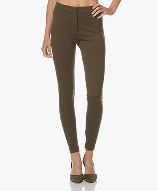 Sportmax Timor Slim-fit Pants - Oliva