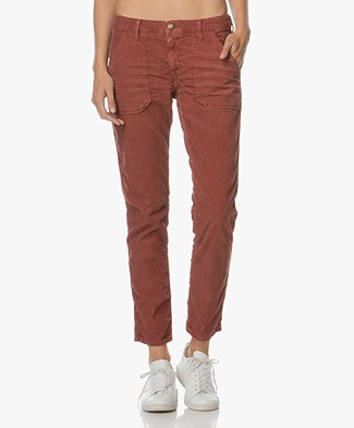 Ba&sh Sally Corduroy Pants - Cognac