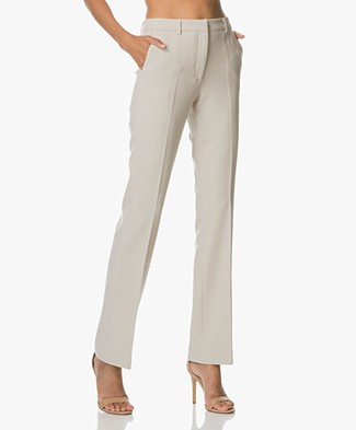 no man's land Classic Pants - Feather