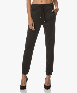 Filippa K Shiny Track Pants - Zwart