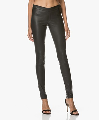 Ba&sh Quartz Leather Pants - Black