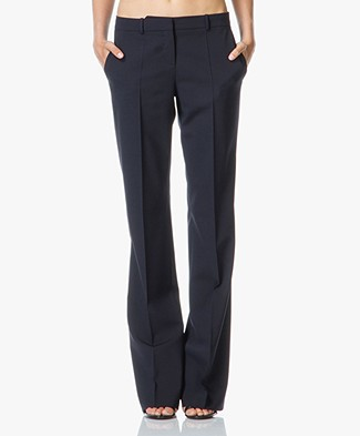 Hugo Boss Tulea Bootcut Pantalon in Wol-Stretch