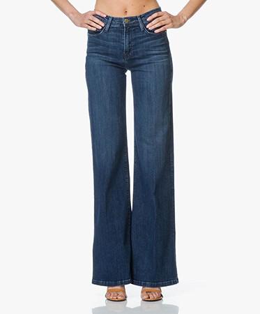 Frame Le Capri Flared Jeans - Rockaway - le capri   lcap6540 rockaway