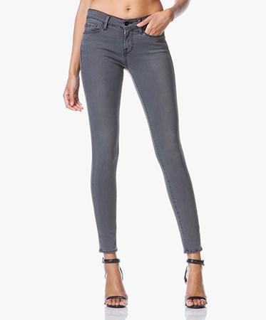 frame denim frame le skinny de jeanne jeans satin greys inn