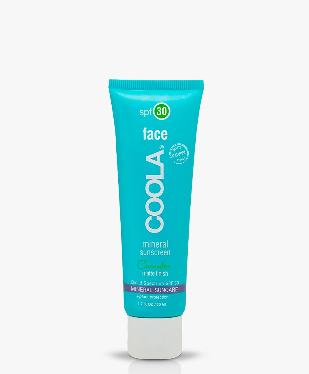 Afbeelding van Coola Sunscreen Mineral Face Cucumber