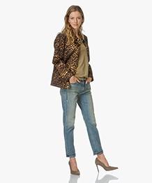 Alexander Wang Leopard-print Jacket - Leopard