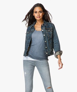 Rag & Bone / Jean Denim Jacket - Worn Blue
