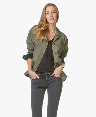 Rag & Bone / Jean Irving Shirt Jacket - Army Green