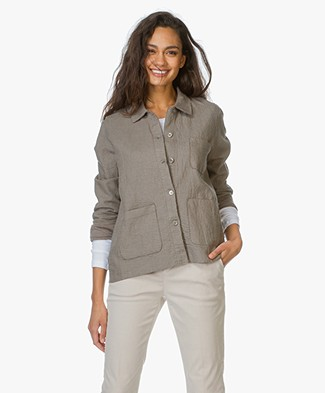 Majestic Linen Blouse jacket