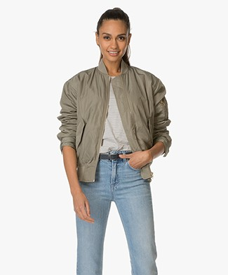 Filippa K Bomber Jacket - Leaf