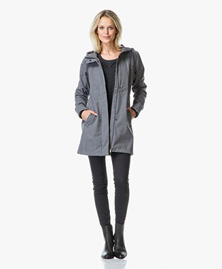 Ilse Jacobsen Softshell Raincoat RAIN50 - Smoked Pearl