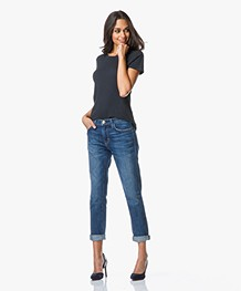 Current/Elliott The Fling Relaxed Fit Jeans - Loved