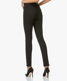 Rag & Bone High Rise Skinny Jeans - Black