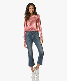 Rag & Bone Vintage Crop Flare Jeans - Juniper
