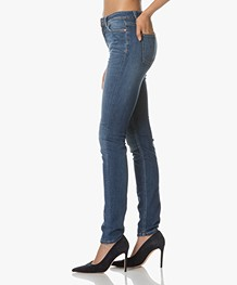 Closed Lizzy Skinny Jeans - Used Mid Blue