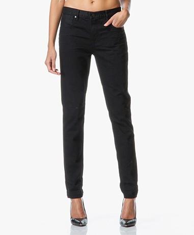 Denim x Alexander Wang | Wang 002 Relaxed Fit Jeans - Zwart