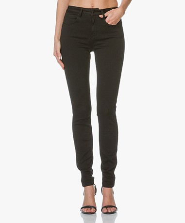 Drykorn High Waist Skinny Jeans Soon - Zwart