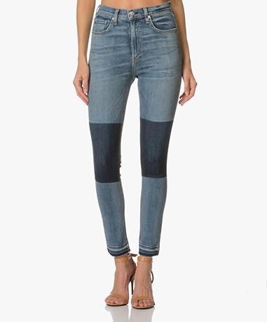 Rag & Bone / Jean Dive Capri Skinny Jeans - Olana