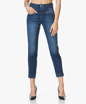 Closed Pedal Pusher Stone Washed Jeans