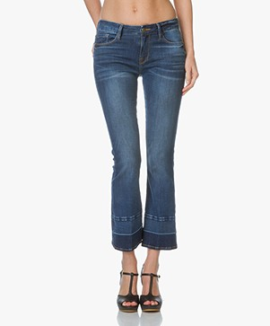 Frame Le Crop Mini Boot Released Hem Jeans - Atlas