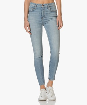 Current/Elliott The Super High Waist Stiletto Jeans - Peak