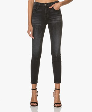 Current/Elliott The Super High Waist Stiletto Jeans - Bad Company