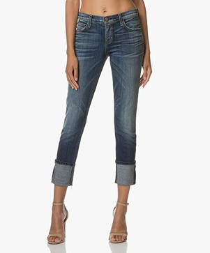 Current/Elliott The Cuffed Skinny Jeans - Envy