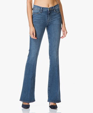 Frame Le High Flare High-rise Jeans - Sunset Plaza