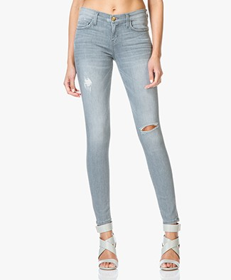 Current/Elliott The Ankle Skinny Jeans - Fade Destroy