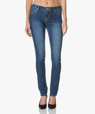 MKT Studio The Patti Wave Skinny Jeans - Lavage Dylan