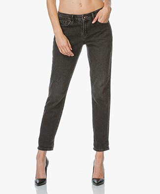 Denham Girlfriend Fit Jeans Monroe - Washed Black