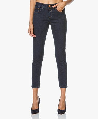 Closed Power Stretch Slim-fit Jeans Baker - Dark Denim