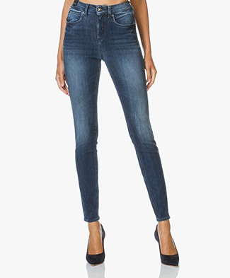 Drykorn High Waist Skinny Jeans Soon - Medium Blue