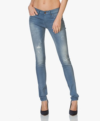 Denham Skinny Fit Jeans Sharp - Golden Rivet Patty