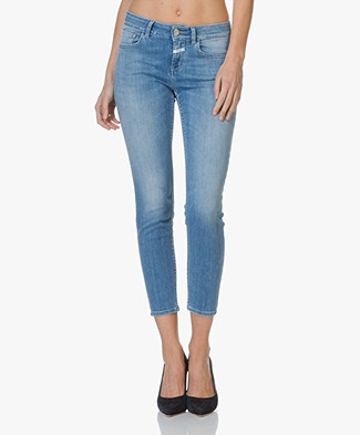 Closed Power Stretch Slim-fit Jeans Baker - Mid Blue