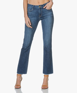 Frame Le Mini Boot Raw Edge Jeans - Dexter