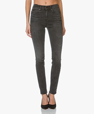 Drykorn Soon High Rise Skinny Jeans - Grey