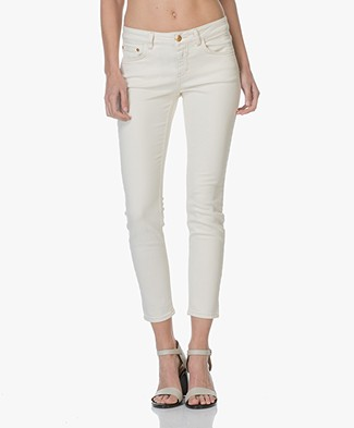 Closed Power Stretch Slim-fit Jeans Baker - Ivory Beige