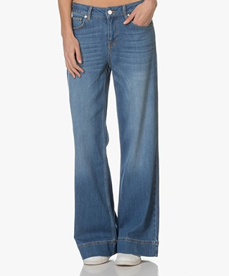 Zadig et Voltaire Flared Jeans Plume - Blauw