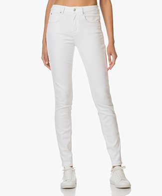 Drykorn High Waist Skinny Jeans Soon - Wit