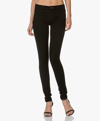 Denham Spray Super Skinny Fit Jeans - Diep Zwart
